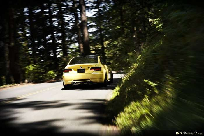 BMW M3 Coupe Dakar Yellow Project