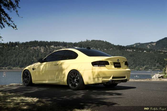 BMW M3 Coupe Dakar Yellow Project