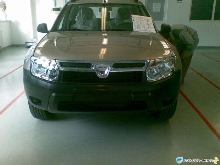 Dacia SUV szpieg