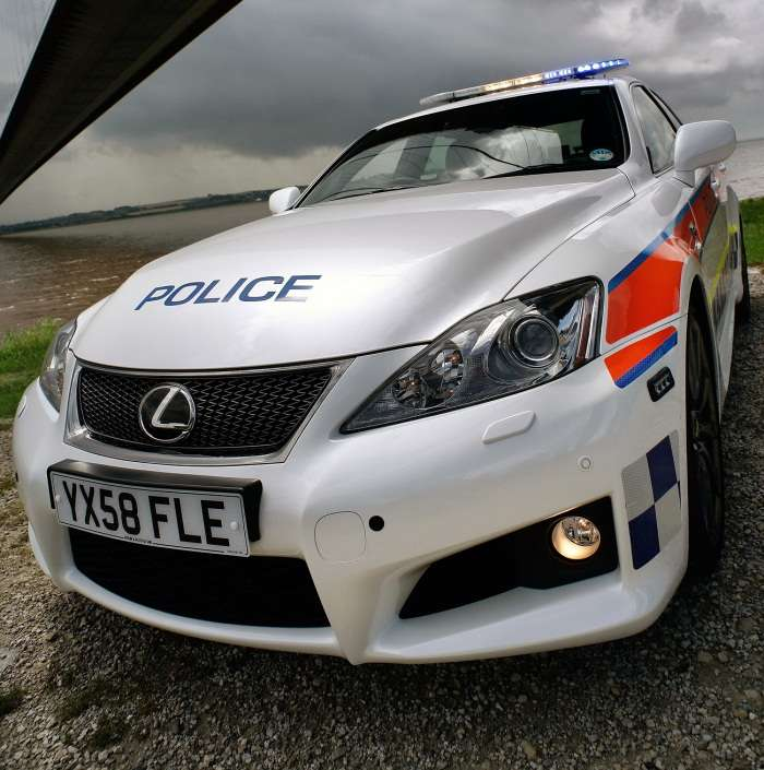 Lexus IS-F Police Humberside 2009