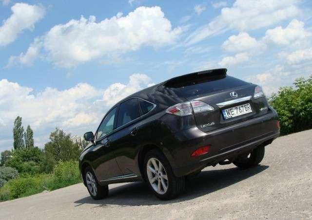 Testujemy: Lexus RX350 3.5 V6 277 KM 2009