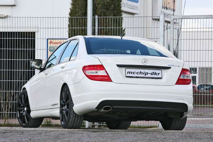 Mercedes C by Mcchip