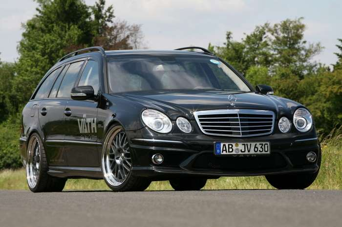 Mercedes E63 AMG by Vath