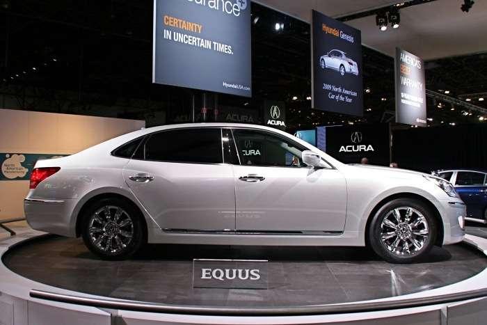 Hyundai Equus Nowy Jork 2009