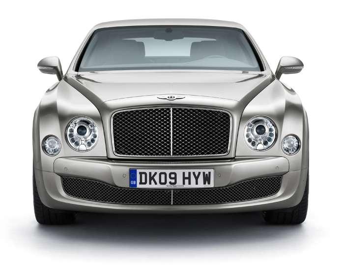 Bentley Mulsanne Monterey 2009