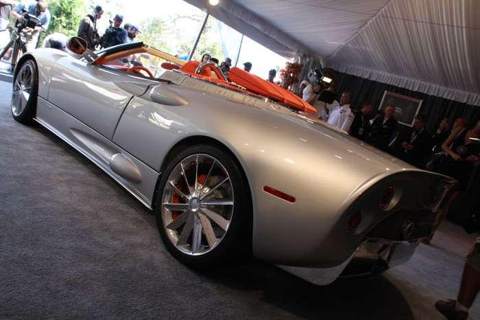 Spyker C8 Aileron Spyder Monterey 2009