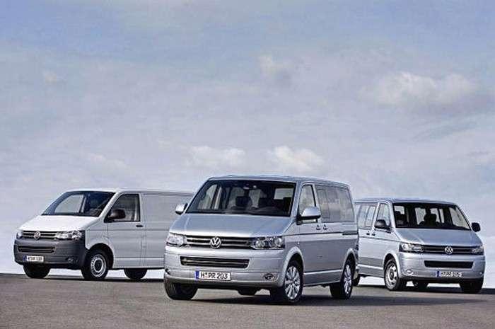 Volkswagen Transporter T5 2010