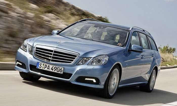 Mercedes E Kombi przedpremierowe