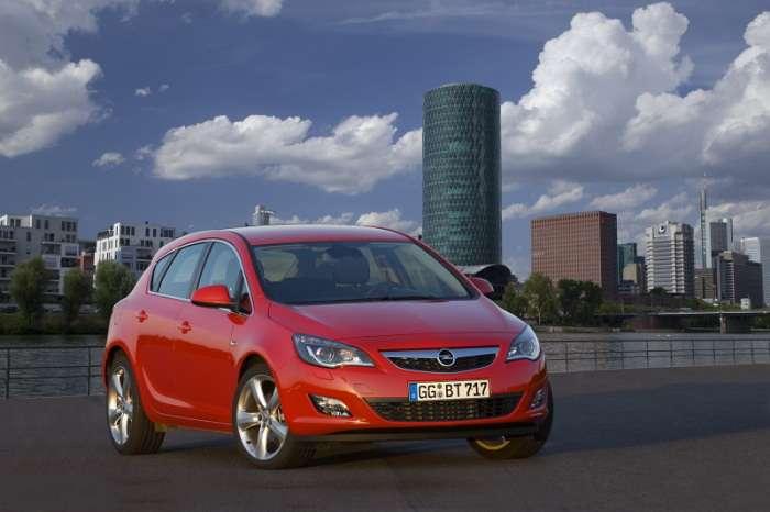 Opel Astra IV silniki