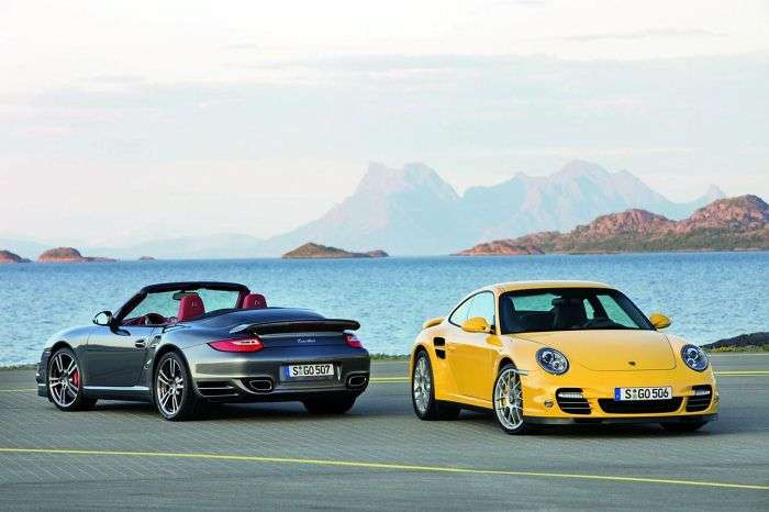Porsche 911 997 Turbo 2010