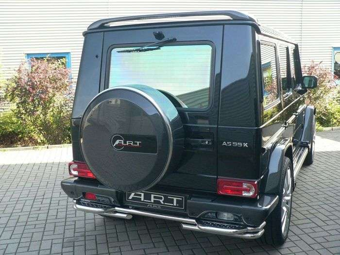 Mercedes G55 AMG by ART