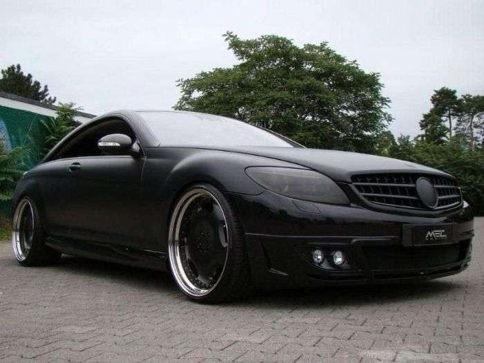 Mercedes CL by MEC Design