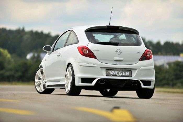 Opel Corsa D by Reiger