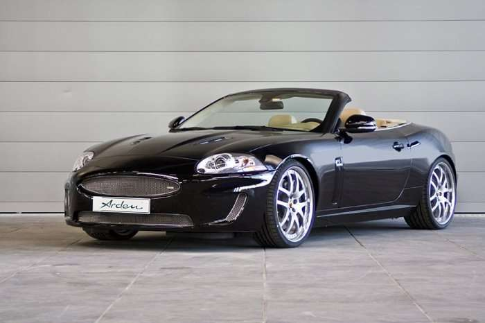 Jaguar XKR Convertible by Arden