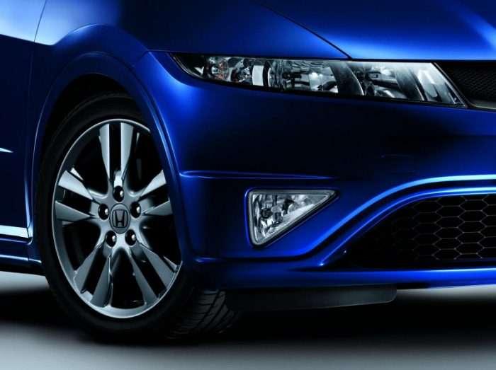 Honda Civic Si bryt