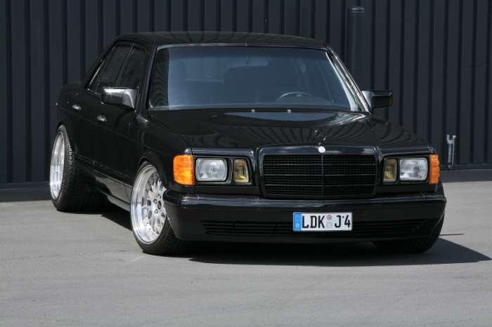 Mercedes W126 by Inden Design