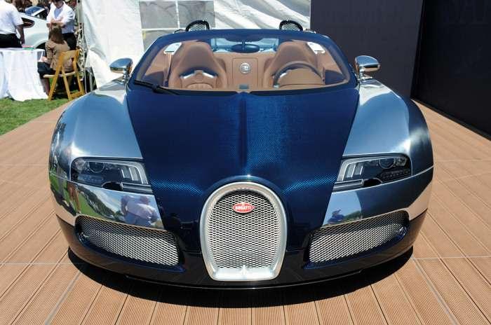 Bugatti Veyron Sang Bleu Monterey 2009