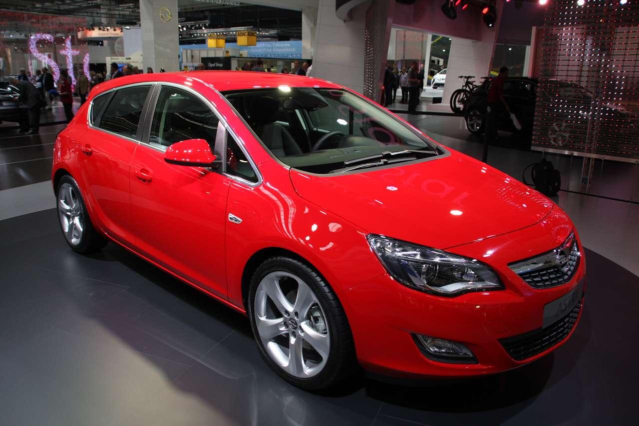 Opel Astra IV Frank 2009