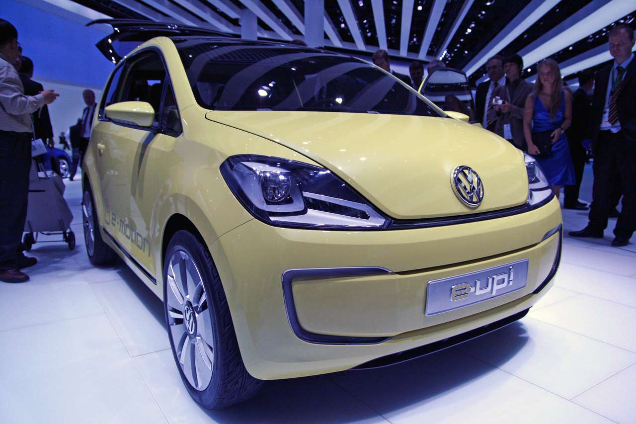 Volkswagen E Up Frankfurt 2009