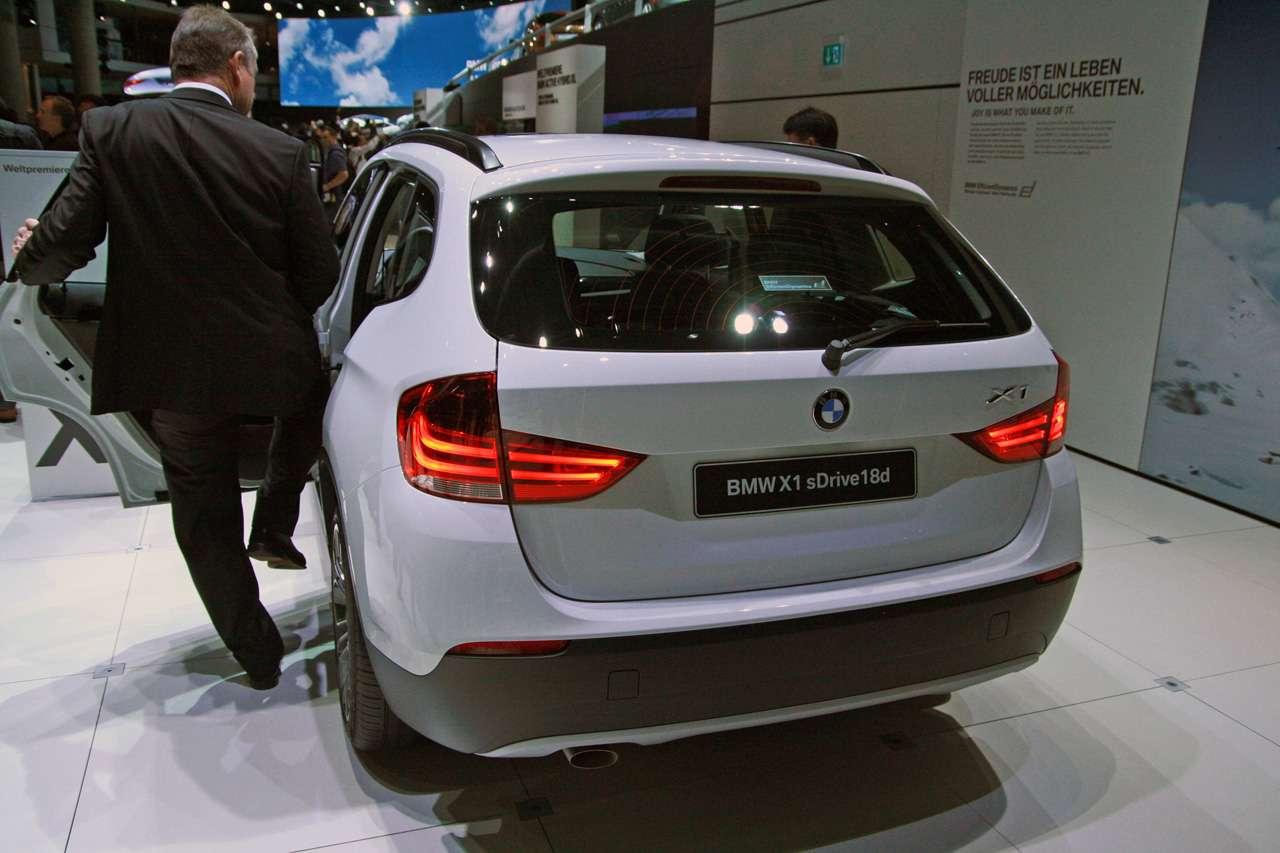 BMW X1 Frankfurt 2009