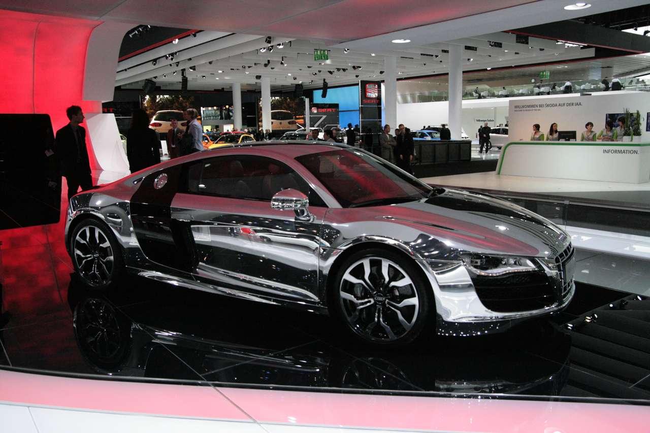 Audi R8 V10 Chrome Frank 2009