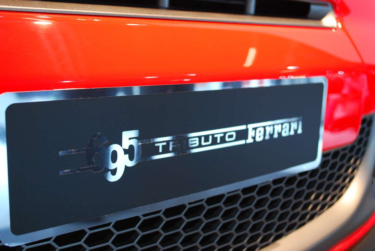 Abarth 695 Tributo Ferrari Frankfurt 2009