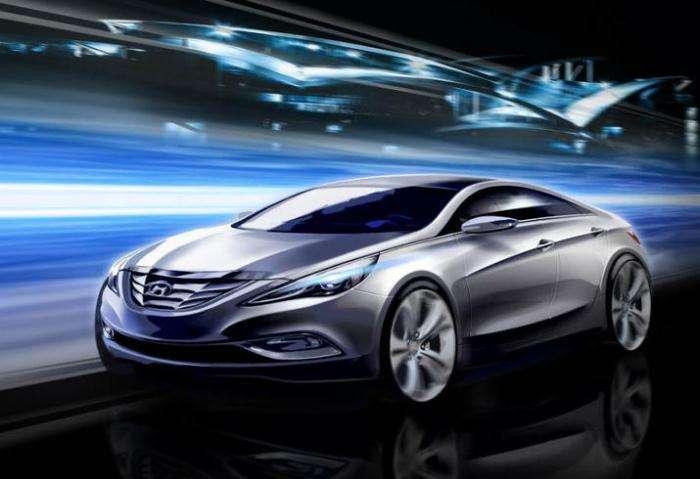 Hyundai Sonata 2011 nieoficjalne