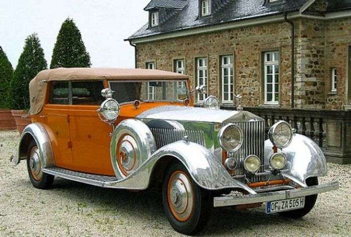 Rolls Royce Phantom II Continental Star of India