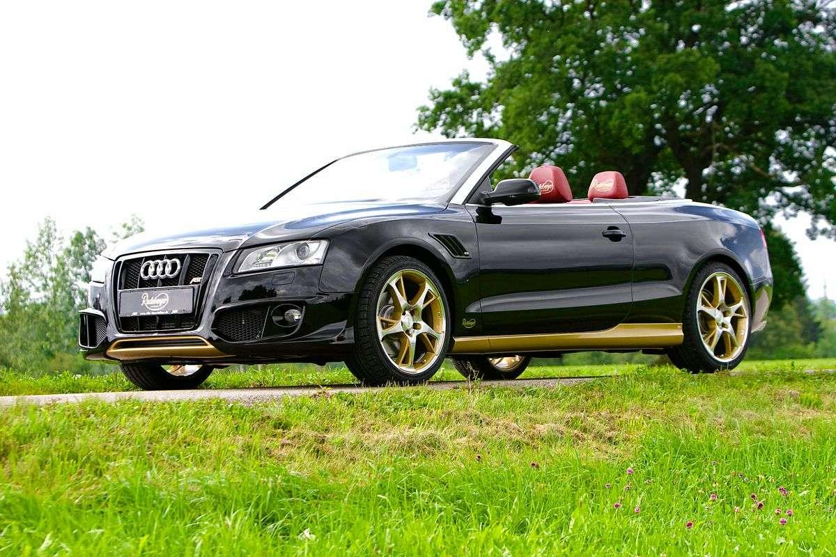 Audi A5 Cabrio ABT Pilsner Democar
