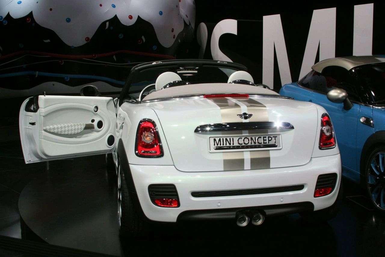 Mini Roadster Concept Frankfurt 2009