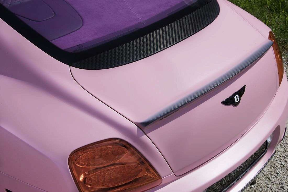 Mansory Continental Vitesse Rose