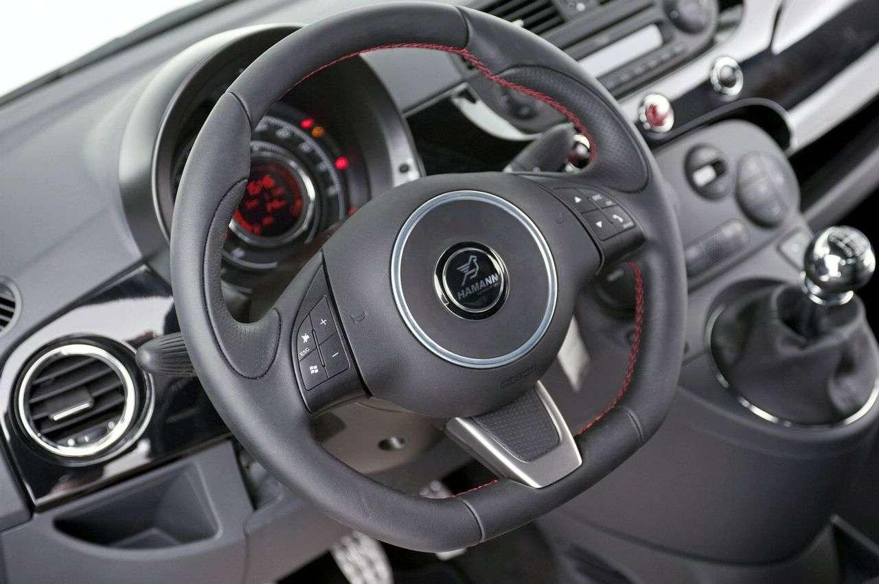 Fiat 500 od Hamanna 265 HP 2009