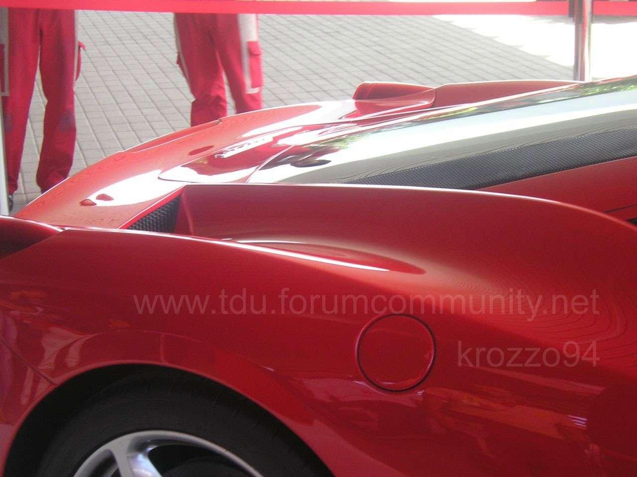 Ferrari 458 Italia przedpremierowe
