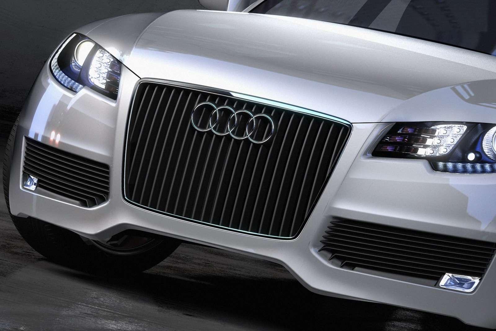 Audi R7 szkic komp