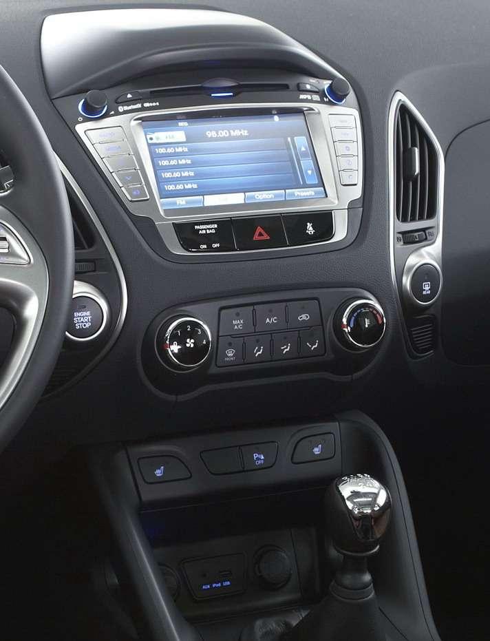 Hyundai ix35 przedpremierowe