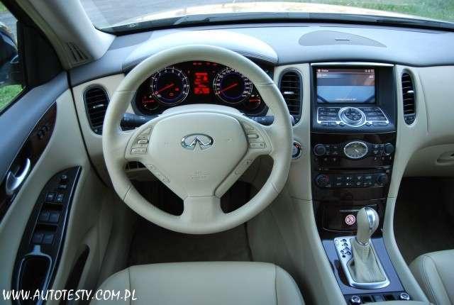 Test Infiniti EX 37 GT 3,7 V6 320KM