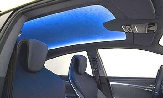 Lexus LFCh probki