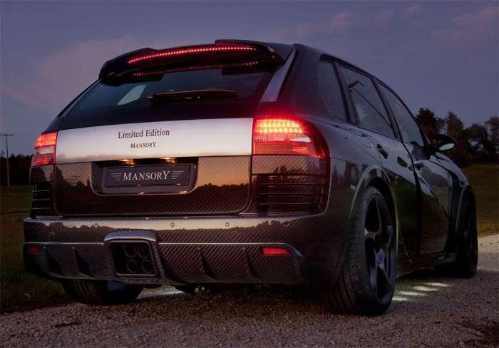 Porsche Cayenne Chopster by Mansory