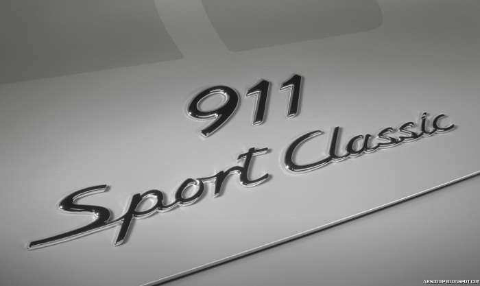 Porsche 911 Sport Classic Galeria