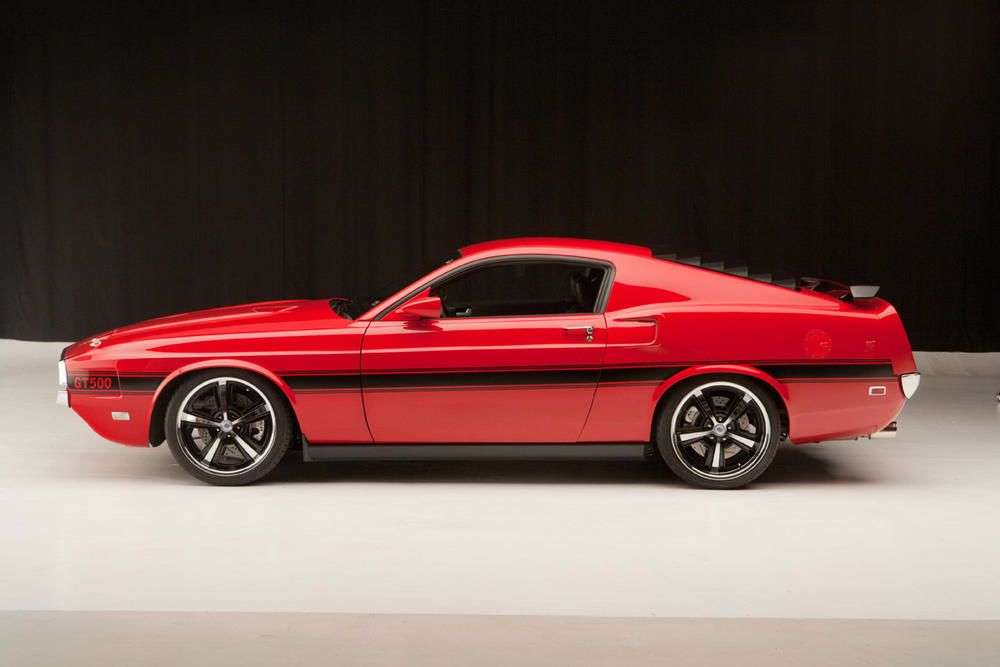 Ford Mustang Shelby przerobka