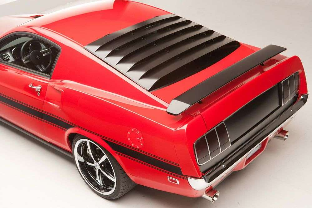 Ford Mustang Shelby przerobka