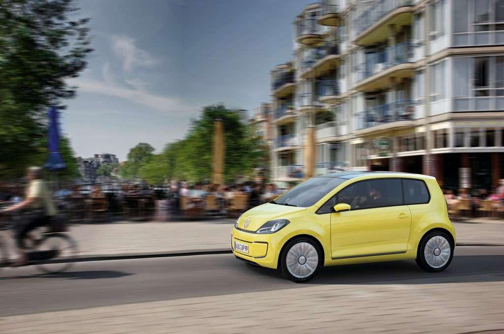 Koncepcyjny Volkswagen E-Up! Frankfurt