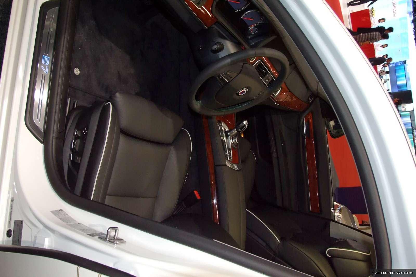 Tokio 2009 Bialy wieloryb Alpina B7 Bi-Turbo