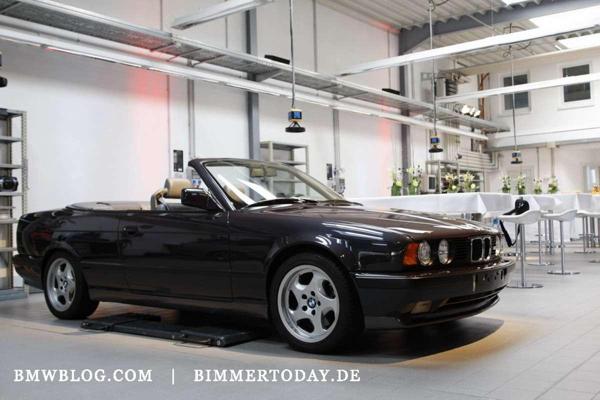 BMW M5 E34 Cabrio 2009 fot