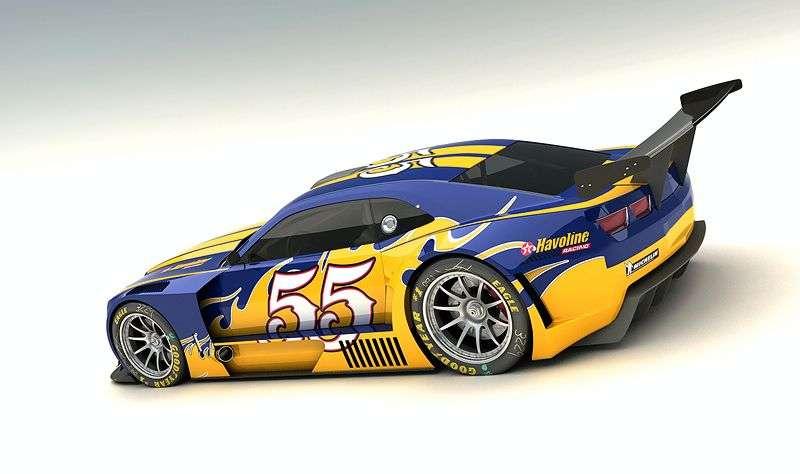 Chevrolet Camaro 2010 VizualTech Design 2009 Le Mans