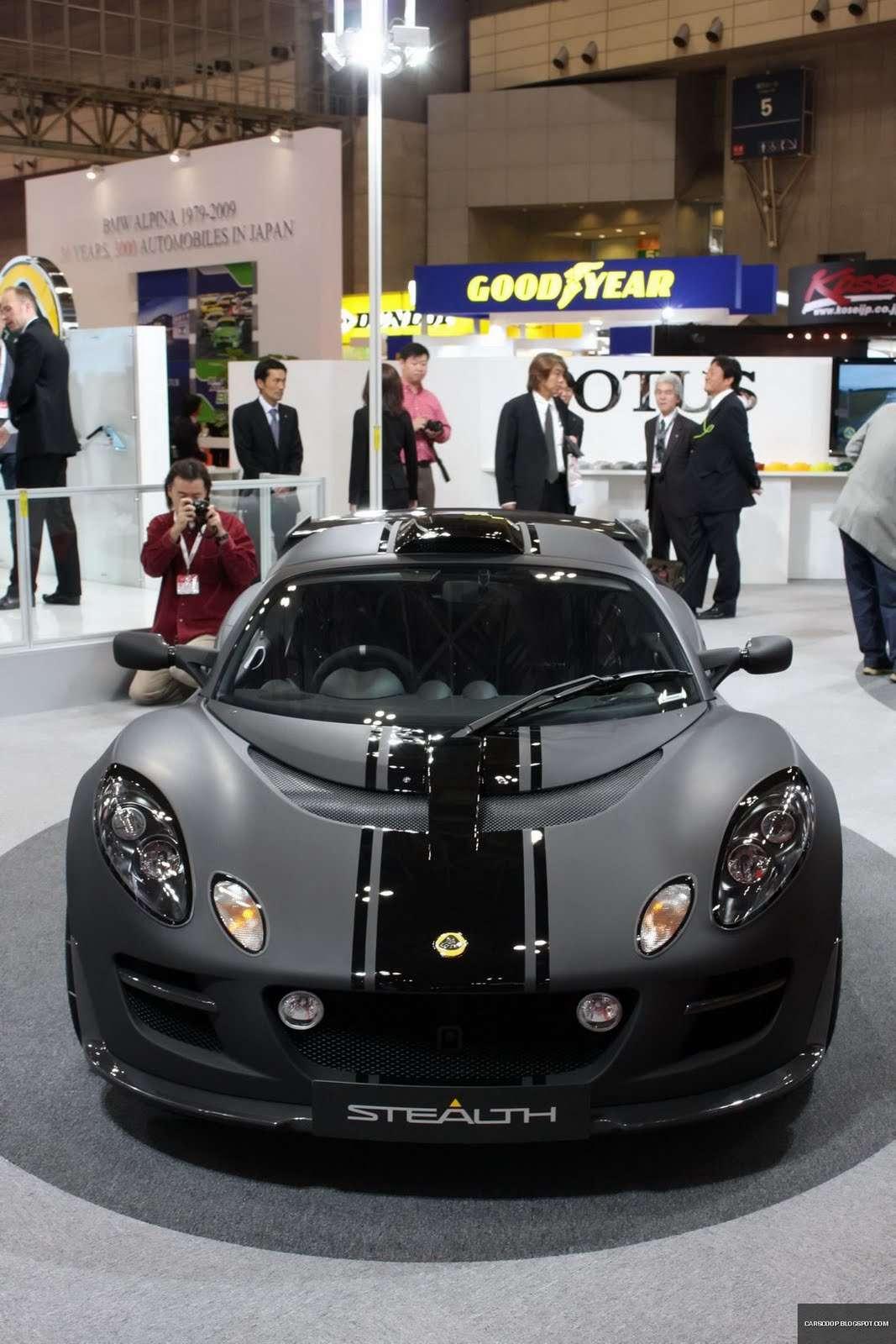 Tokio 2009: Lotus Exige Scura Stealth