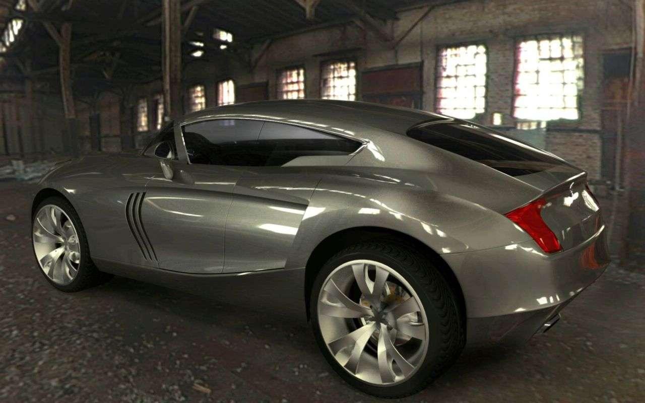 Maserati Kuba SUV od rosyjskiego projektanta 2009