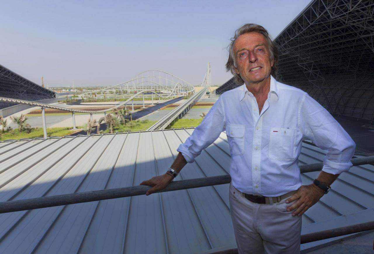 Park rozrywki Ferrari w Abu Dhabi 2009