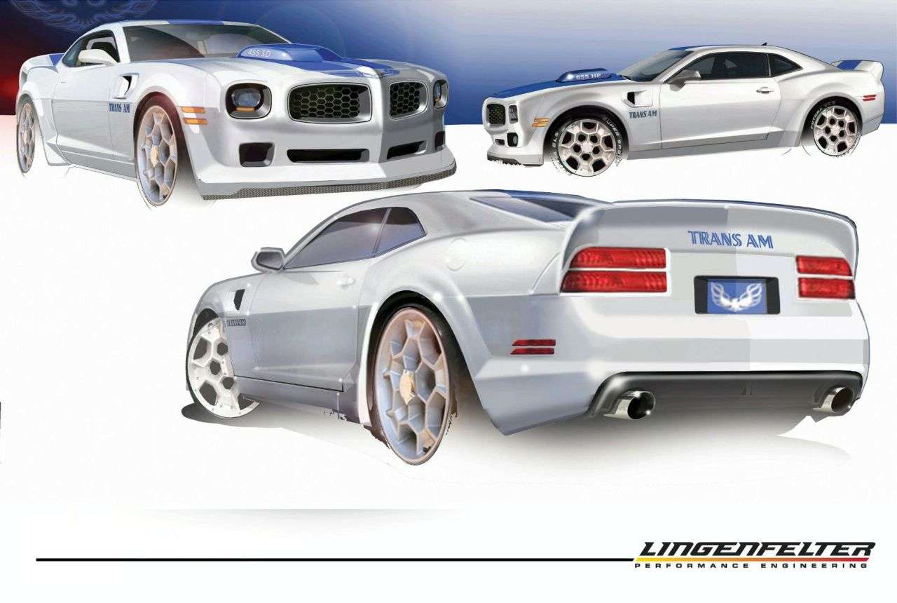 Pontiac Trans Am Lingenfelter powraca szkice 2009