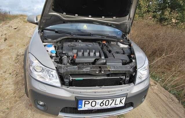 SkodaOctavia Scout 4x4 2,0 TDI 140KM 2009
